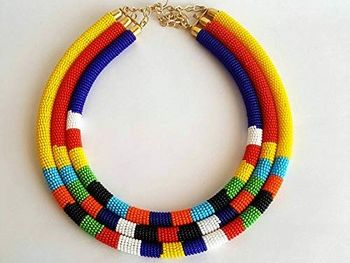 Art and DT: Traditional African Jewellery and Fastening