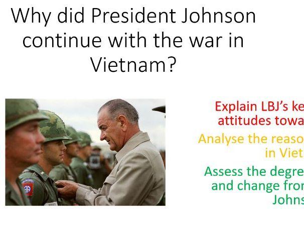 LB Johnson and the Vietnam War