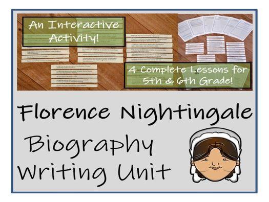 UKS2 History - Florence Nightingale Biography Writing Unit