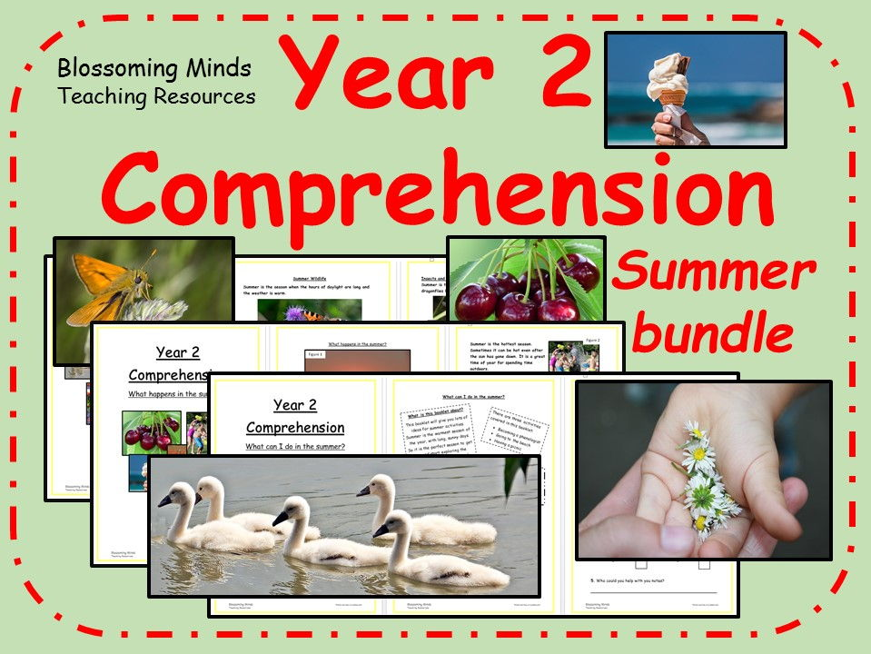 Year 2 summer comprehensions