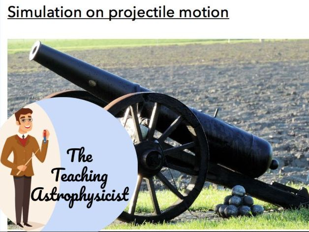 IB DP Physics Projectile motion online lab