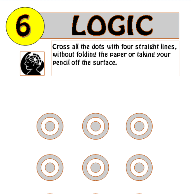 Logic puzzle 3,4,5+6 - Bundle!