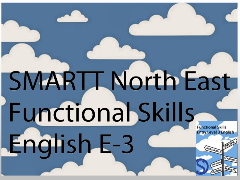 Functional Skills Entry Level 3 English Complete Teacher/Tutor Package **(special offer)**