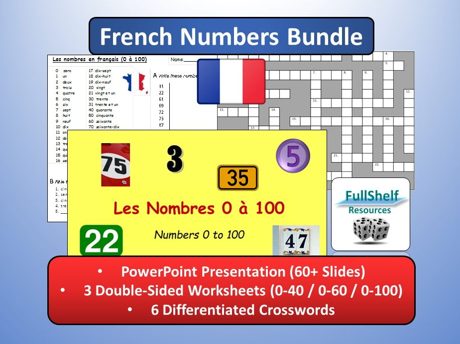 French Numbers Bundle