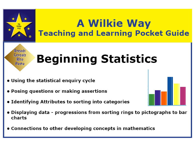 Wilkie Way Teaching & Learning Pocket Guide Beginning Statistics