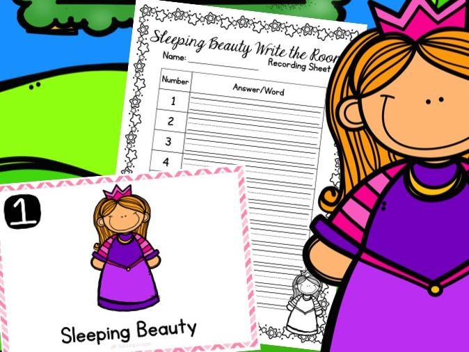 Sleeping Beauty Write the Room