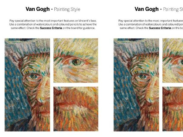 Van Gogh Activity and Art History