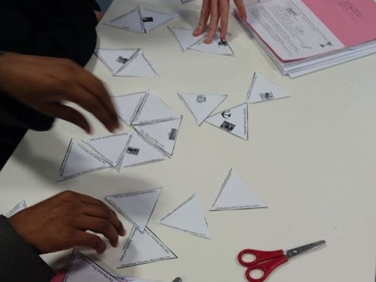 Life in Nazi Germany Revision Tarsia Puzzle