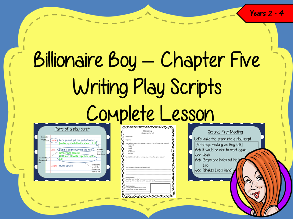 Play Scripts Complete Lesson  – Billionaire Boy