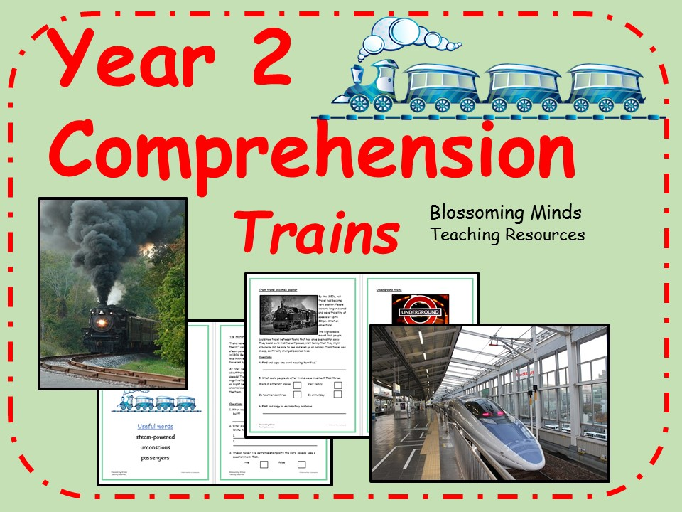 Year 2 non-fiction comprehension - Trains