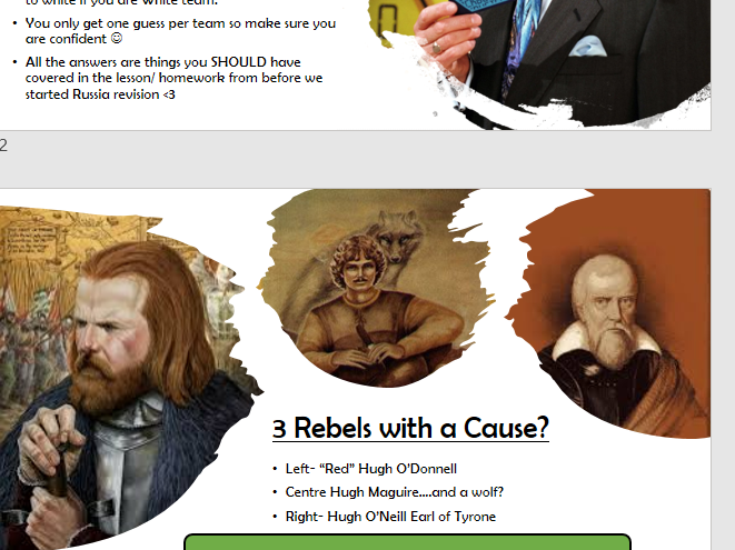 Tudor Rebellions Tyrone Rebellion Nature