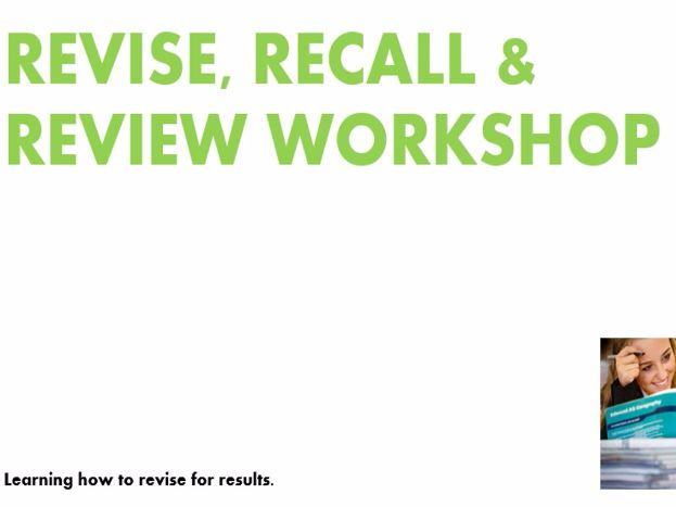 Revision activity for any subject REVISE, RECALL & REVIEW