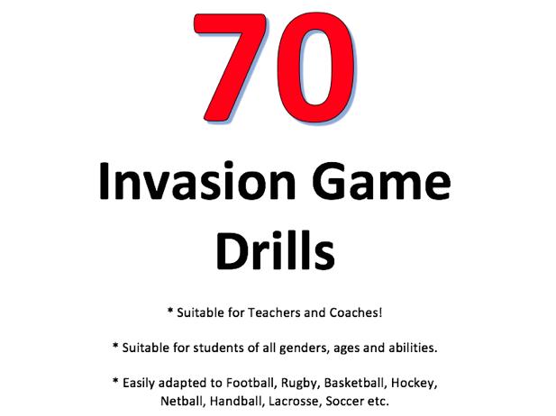70 Invasion Game Drills