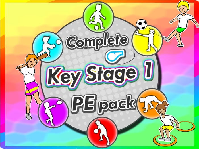 Key Stage 1 PE Games & activities  - Complete Sport Skill and Games Pack