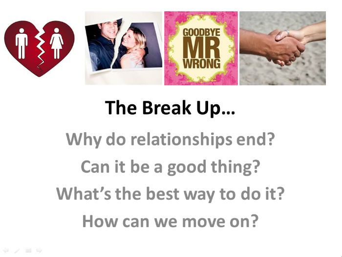 Breaking up: ending relationships well