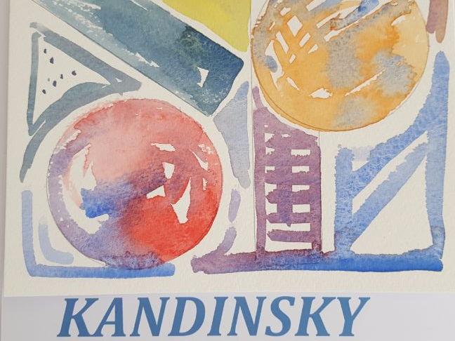 Watercolour - Kandinsky style