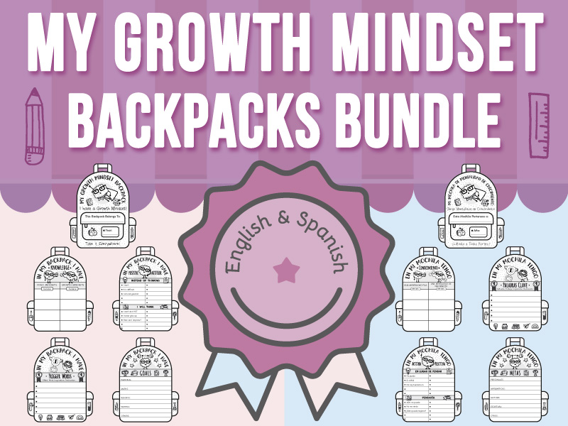 My Growth Mindset Backpacks BUNDLE