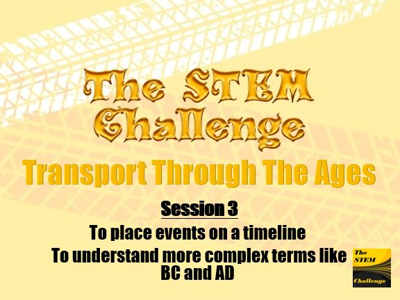 Transport Through The Ages - Session 3