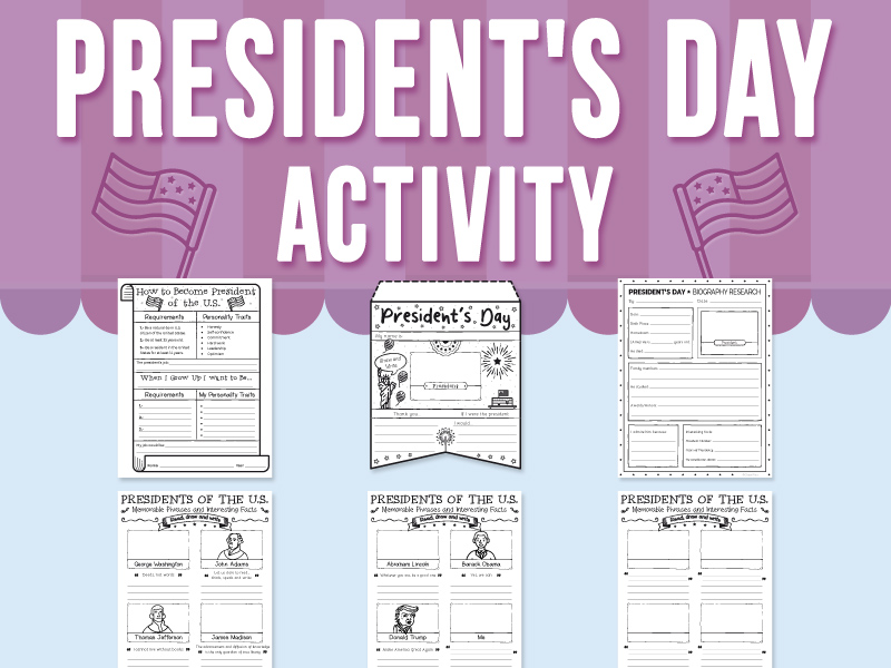 President's Day Activity