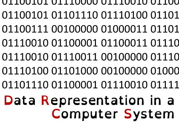 Data Representation Introduction and Character Representation - J276 - OCR
