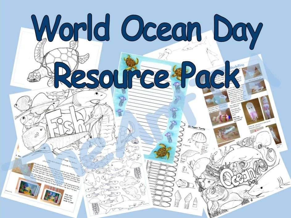 World Ocean Day resource pack