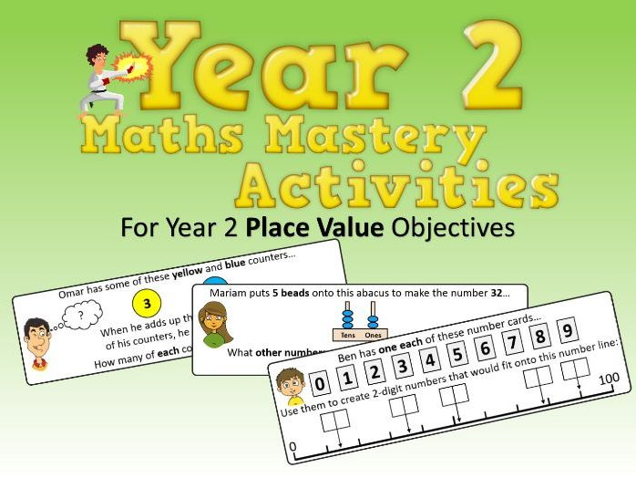 Place Value Mastery Activities – Year 2