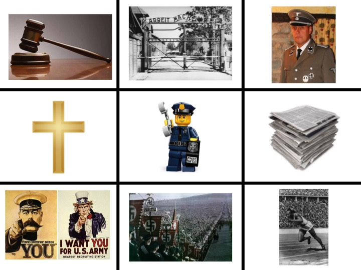 How did the Nazis control Germany? A three-lesson enquiry with GCSE question/markscheme/answers