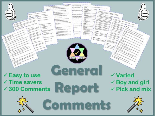 General Report Comments