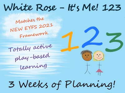 It's Me! 1 2 3 - White Rose Maths - Early Years