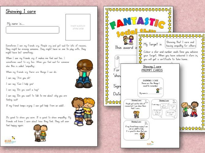 Personalised Story for social skills FREE SAMPLE