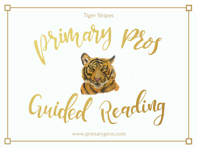 Year 3 & 4 Guided Reading Text - Tiger Stripes