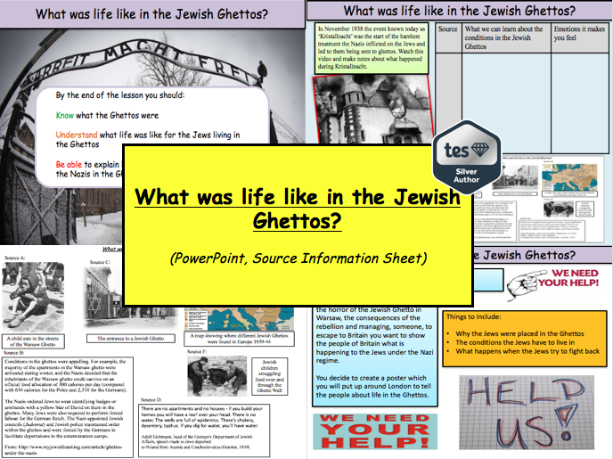 What was life like in the Jewish Ghettos?