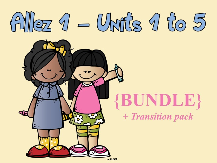 Allez 1 - Units 1, 2, 3, 4, 5 + Transition pack (worth £54)