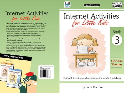 Internet Activities for Little Kids: Book 3 - Social Science Themes