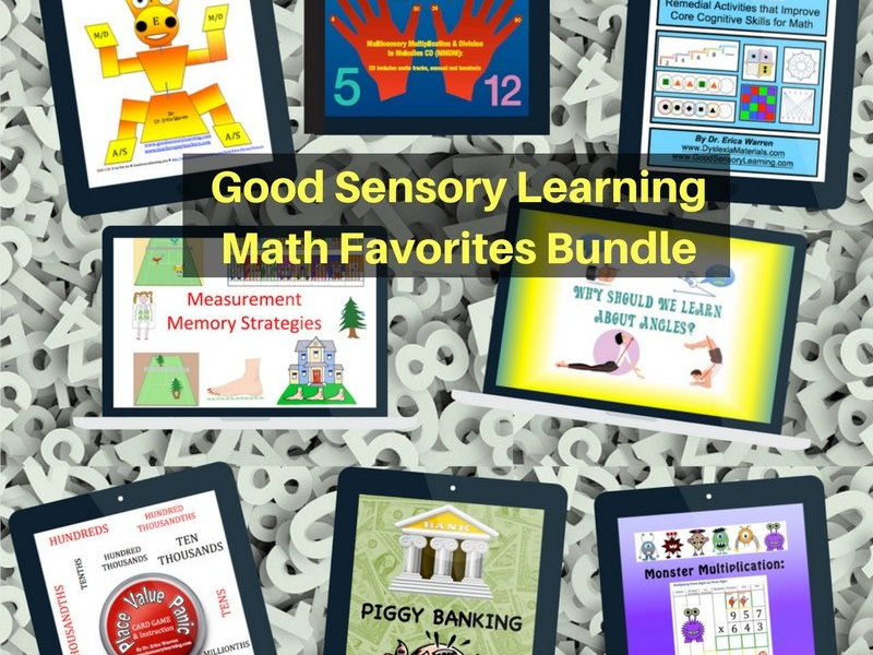 Multisensory Math Favorites Bundle