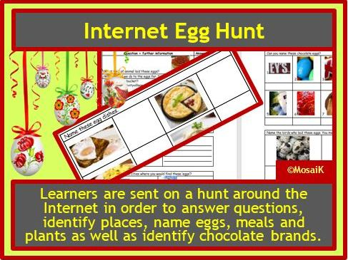 Easter Internet Egg Hunt