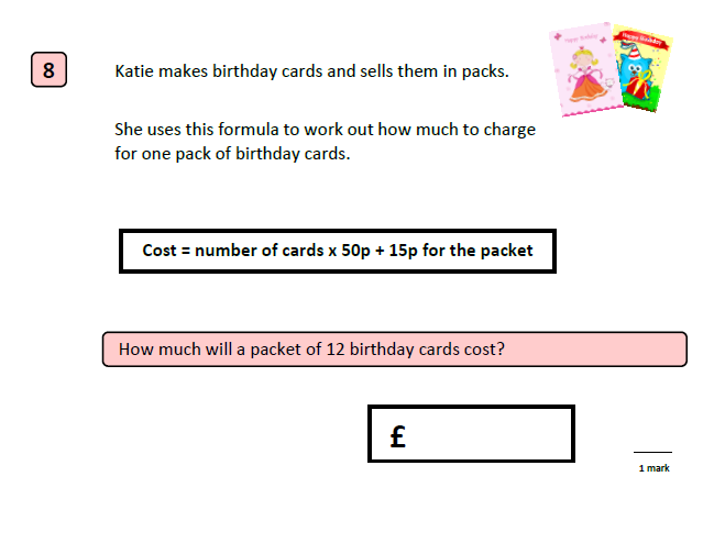 KS2 SATS 2016: Mathematics: Reasoning Paper 2 with answers SAMPLE B