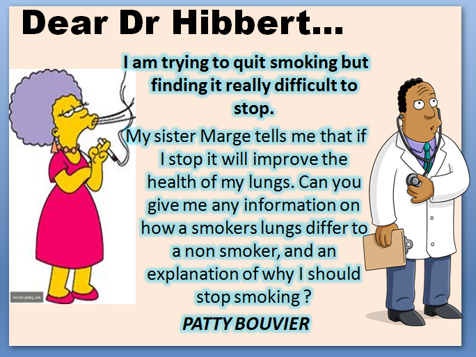 Getting Oxygen / Effects of Smoking on the lungs
