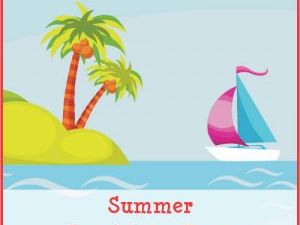 English Summer packets for grades 1, 2, 3, 4, 5, 6, & 7.