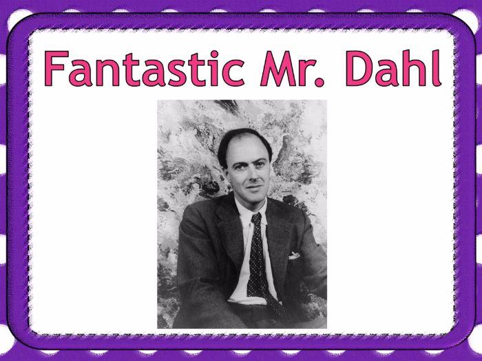 Roald Dahl Day - PowerPoint teaching resource