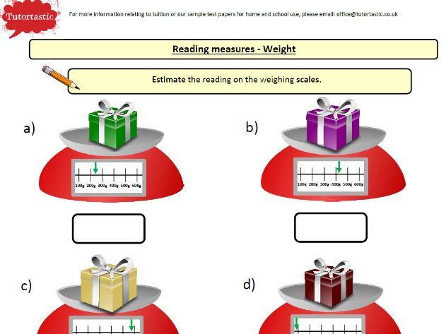 Year 4 Mathematics - Measurement