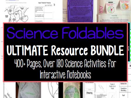Science Foldables MEGA BUNDLE