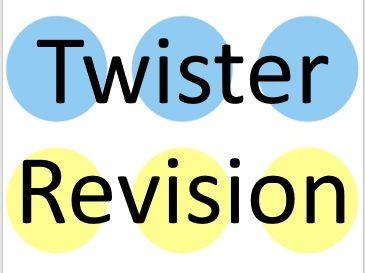 GCSE PE Revision Twister