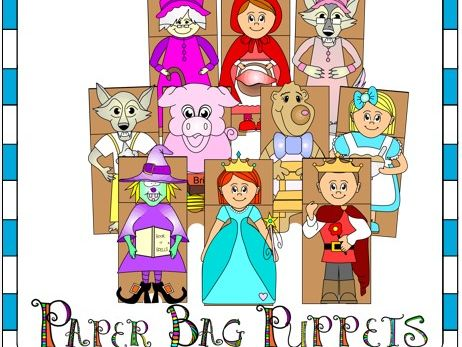 Fairy Tales Paper Bag Puppets