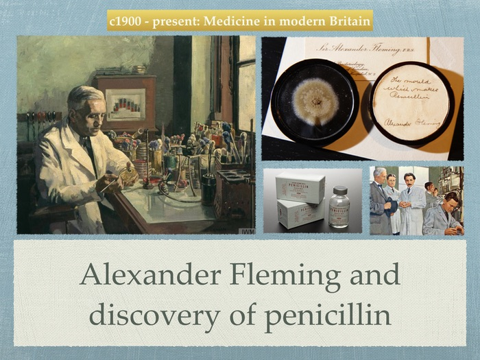 Gcse History  20th Century  Alexander Fleming And