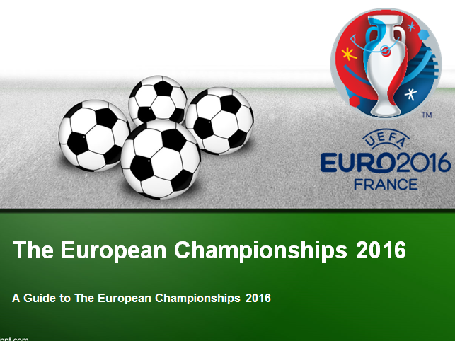 A Guide to The European Championship 2016
