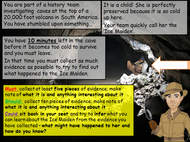 I'm a Historian! Ice Mummies Investigation (What is history? (KS3))
