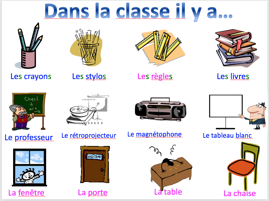 En classe - expo 1 module 1 - differentiated lesson + worksheet