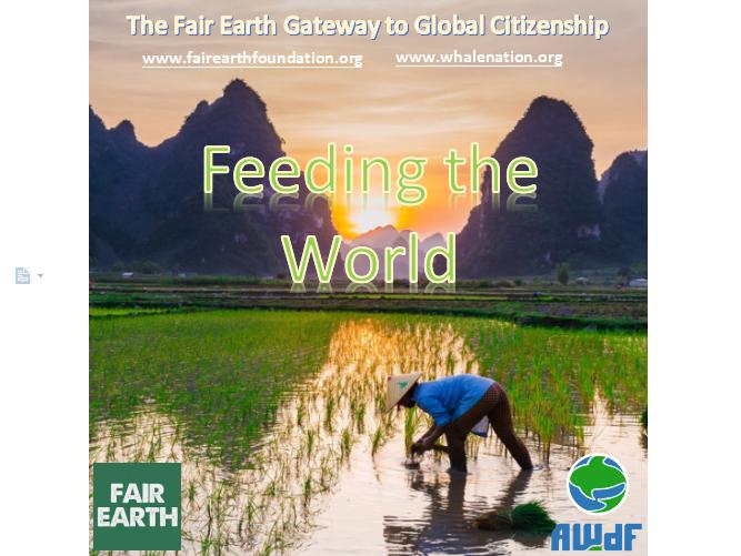 Feeding the World - Fair Earth Resources
