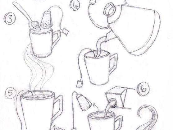 Functional Skills English - EL1-EL2 - Writing Instructions - Teatime